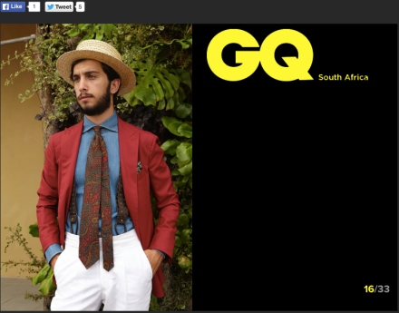 Gq South Africa - Pitti Uomo 88