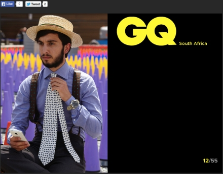 Gq South Africa. - Pitti Uomo 88