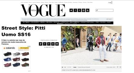Vogue Portugal - Pitti Uomo 88