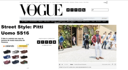 Vogue Portugal - Pitti Uomo 88